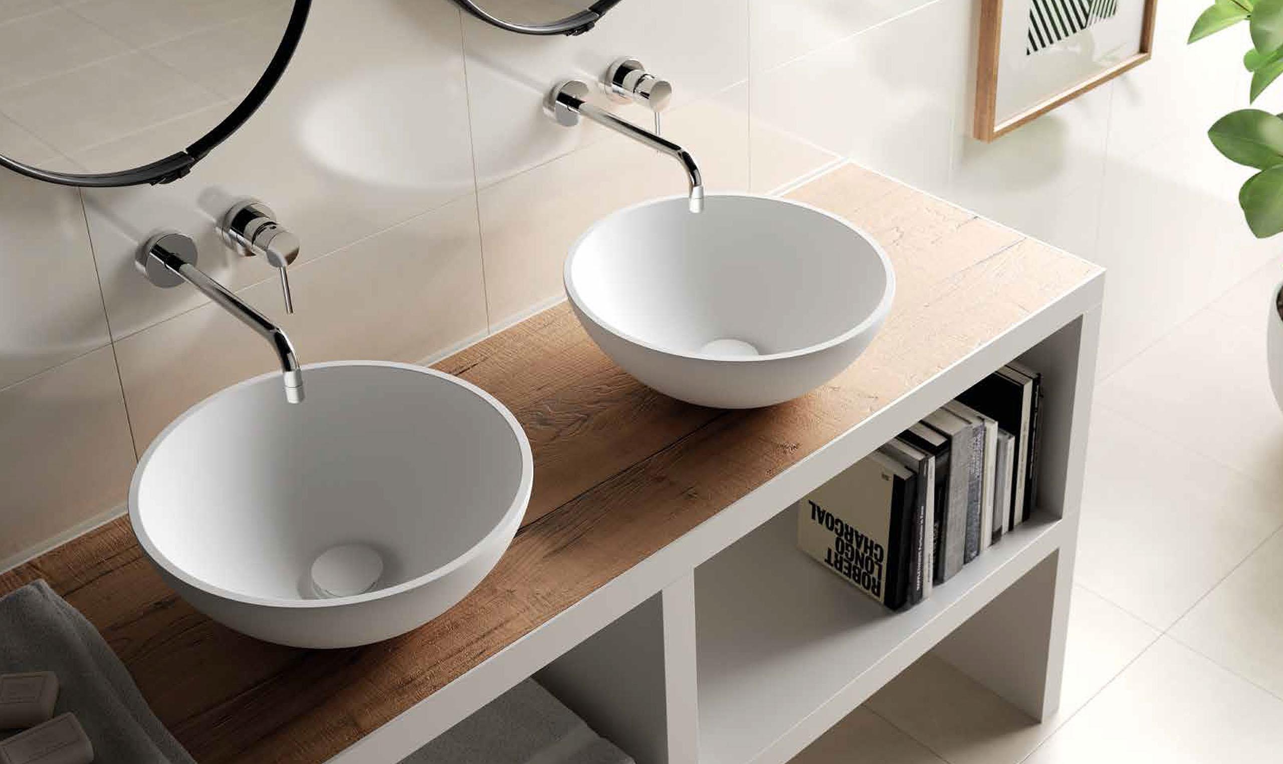 ... Spiegel : Wastafel formido. Wastafel natuursteen. Wastafel beton cire