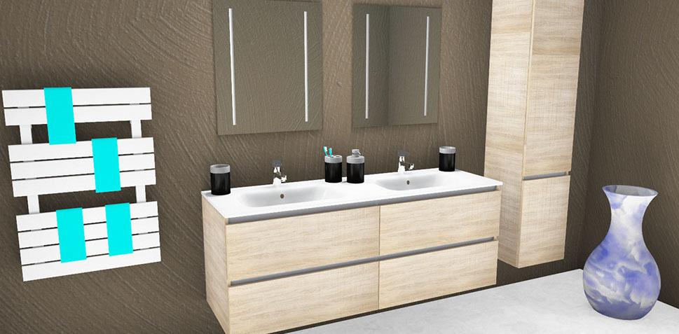 Bekijk als onze badkamermeubels wasbakken spiegels en andere producten aqua linea badkamers - Sfeer zen badkamer ...